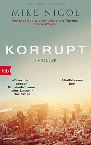 Korrupt: Thriller (Die Kapstadt-Serie, Band 2)