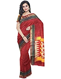 Sakhi Womens Dupion Silk Saree_DPR-0531_Multi-coloured_Free Size