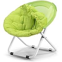 AJZXHEIdea Simple sillón reclinable Silla Plegable Redonda de Espalda es diván de Forma Desmontable (Color : C)