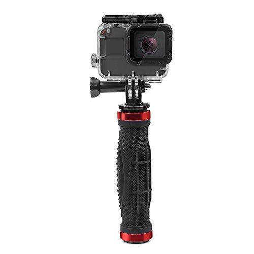 Shoot GoPro Handgriff Hand Stabilisator Grip Handstick Monopod Pole Selfie Stick Ergonomisch für GoPro Hero 7 6 5/4/3+/3/2/SESSION, für Action Camera Canon/Nikon/Panasonic/Olympus/SJCAM/SONY HDR FDR/Garmin XE/Xiaomi Yi 4K