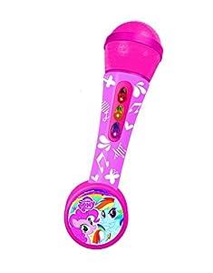 My Little Pony - Micrófono de mano con amplificador y ritmos (Claudio Reig 2471)
