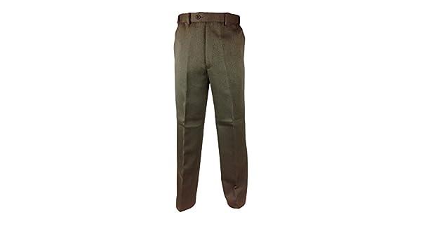 Mens Smart Formal Casual Dress Trousers Expand a Band Waist 32-48 Leg 27 29 31