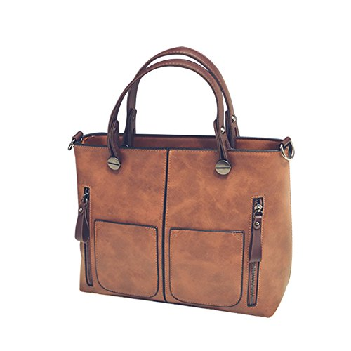 Versione coreana di borsa a tracolla retro/Borsa di modo/semplicePU borsa in pelle-A A