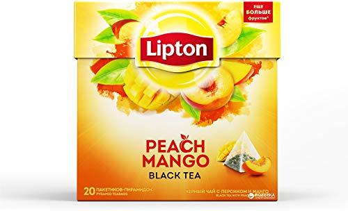 Lipton Té Mango y Melocotón - 20 Pirámides