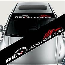 Zantec Pegatinas de coche,etiqueta,engomada del parabrisas delantero-Calcomanías de decoración,