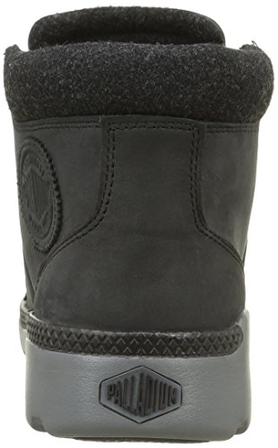 Palladium Palavil Hi L H, Baskets Hautes Homme Noir (862 Black / Metal)