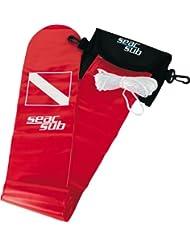 Seac 0950008000000A Parachute de Palier Mixte Adulte, Rouge