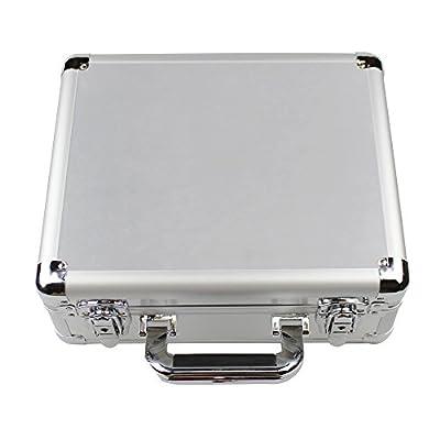 Anbee Aluminum Hard Case Suitcase Box for DJI Mavic Pro Drone, Silver