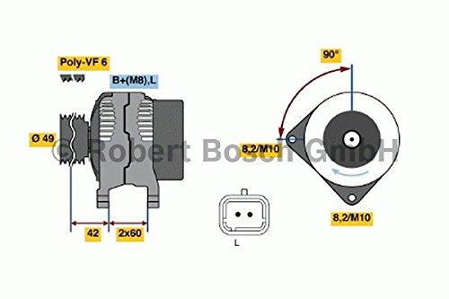 BOSCH 0986045241 Generator