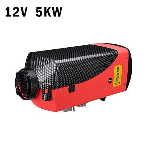 Cosy Réchauffeur 5KW 12V de réchauffeur d'air Diesel avec écran LCD télécommandé pour caravanes de Voitures de camions, autocar de Tourisme, Conduite hivernale par Temps Froid