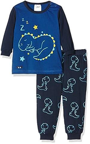 Twins Baby-Jungen Zweiteiliger Schlafanzug Sleeping Dino, Mehrfarbig (Mehrfarbig 3200), 98