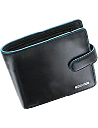 Visconti Alps Collection TOM Bi-Fold Leather Wallet With RFID Protection - ALP86