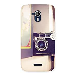 Enticing Pastel Camera Back Case Cover for Micromax Canvas Magnus A117