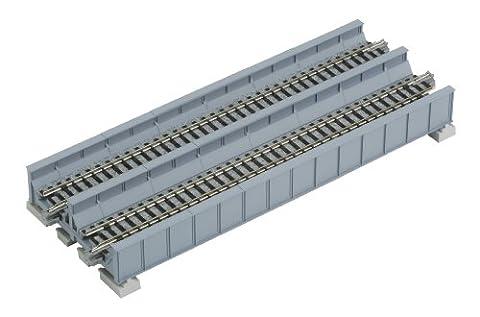 Kato 20-457 Double Track Plate Bridge 186mm Grey