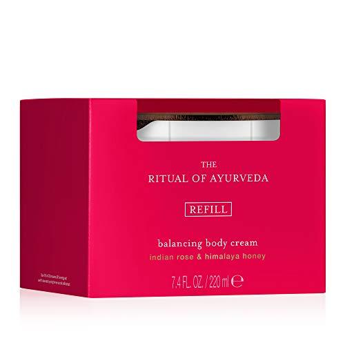 RITUALS The Ritual of Ayurveda Körpercreme zum Wiederbefüllen,  1er Pack (1 x 220 ml)