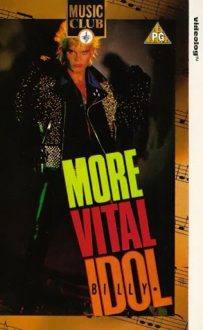 Billy Idol-More Vital Idol [VHS] [Import allemand]