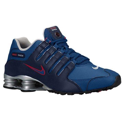 Nike Herren Shox NZ EU Turnschuhe, Blau, 39
