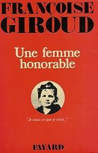 "Afficher ""Une Femme honorable"""