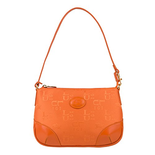 Luigi 81556, Borsa a spalla donna Arancione (arancione)