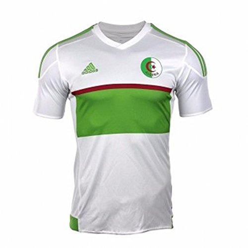 2467a1894de adidas 2017-2018 Algeria Home Football Soccer T-Shirt Camiseta