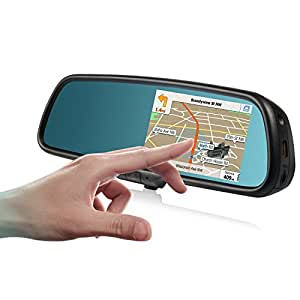 auto vox r ckspiegel monitor mit gps navigation. Black Bedroom Furniture Sets. Home Design Ideas