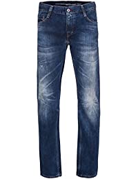 MUSTANG Oregon Tapered Hose Herren Jeans Denim Blau 3116 5612 84