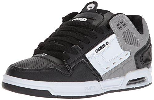Osiris Peril Cuir Chaussure de Basket Noir