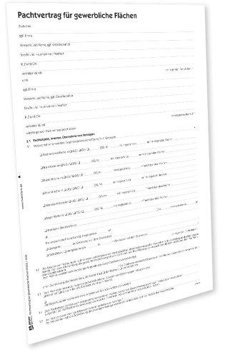AVERY Zweckform 2241e Pachtvertrag für gewerbliche Flächen (von Rechtsexperten geprüft, Dokumentation Pachtobjekt, Pachtdauer, Pachtzweck und Pachtzin) [PDF-Download]