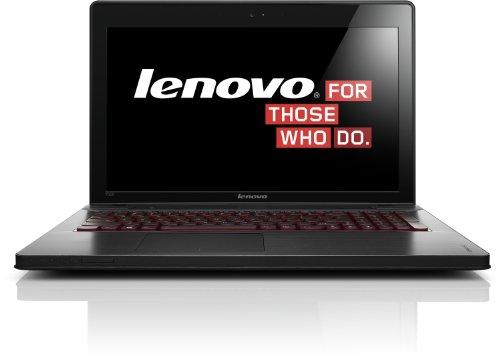 Lenovo Ideapad Y500 39.62 cm (15.6 Zoll) Notebook (Intel Core i7 3630QM 2,4GHz, 8GB RAM, 1TB HDD, NVIDIA GT 650M, Blu-ray Brenner, Windows 8) schwarz