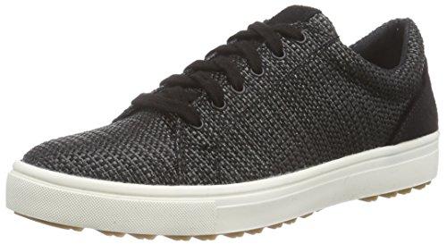 Tamaris 1-1-23609-35 009, Low-Top Sneaker donna, Nero (Schwarz (Black Woven 009)), 36