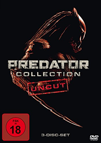 Predator Collection: Predator / Predator 2 / Predators (3 Discs, Uncut)