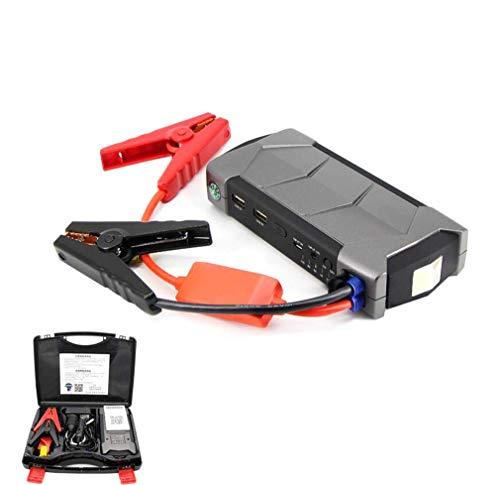Motorino D'avviamento per Auto, 10800Mah 12V Power Booster Power Starter Power Pack, con Doppia Porta USB Caricabatteria per Auto Portatile E Dispositivo di Avviamento Jump