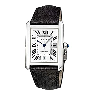 Cartier Tank Solo Automatic Mens Watch WSTA0029