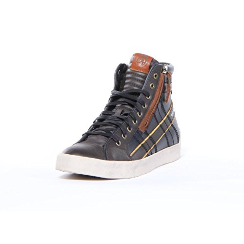 DIESEL - Baskets basses - Homme - Baskets hautes bicolores marron D-String Plus pour homme
