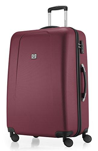 HAUPTSTADTKOFFER - Wedding - Valise à coque dure Bordeaux mat, TSA, 75 cm, 103 litres