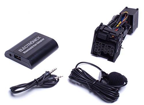Bluetooth Freisprechanlage, Bluetooth Musik Streaming Adapter für Originalradios inkl. AUX und USB-Ladebuchse BTA-BM1