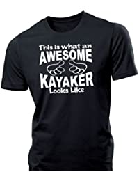 iClobber Awesome Kayaker mens tshirt