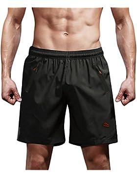 Dolamen Bañador de Natación Boxer para Hombre, Hombre Bañador Traje de Baño Pantalones Cortos Playa Piscina, Con...