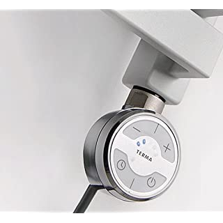 MEG Chrome Thermostatic Electric Element for Heated Towel Rail Radiator Conversion kit (120Watt)