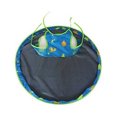 xuanyang524 Baby, das Hochstuhl-Abdeckungs-Untertassen-Auflagen-Matte füttert, verhindert, DASS Nahrung und Spielwaren in Restaurant und in Haus Anti-schmutzige Tischauflage Fallen (Baby-hochstuhl Abdeckung)
