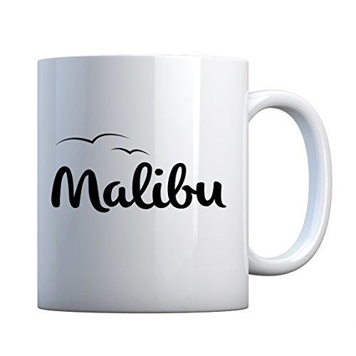Indica Plateau Malibu en céramique Mug cadeau 11oz blanc nacré