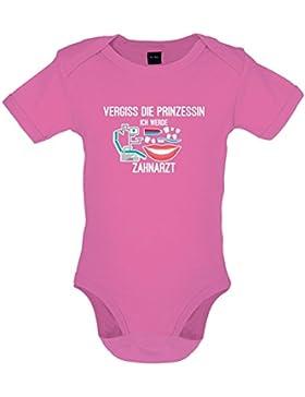 Vergiss die Prinzessin - Ich werde Zahnarzt - Baby-Body - 7 Farben - 0-18 Monate
