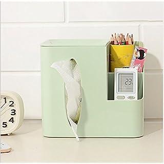 VPlus 1 Stücke Kreative Grüne multifunktions Fernbedienung Aufbewahrungsbox Tissue Box Desktop Kunststoff Pumpenwanne Wohnzimmer Schlafzimmer Gewebe pumpen