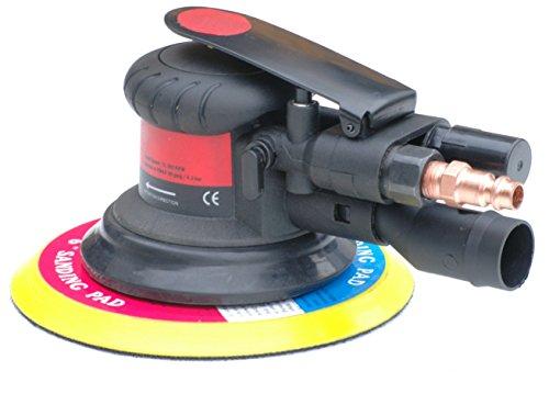Pro-Lift-Montagetechnik Druckluft Exzenterschleifer, 12000U/min, Ø150mm, schwarz/rot, J, 00660