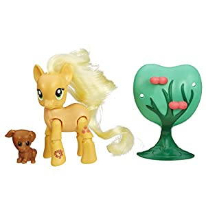 My Little Pony - Muñeca con Movimiento Applejack (Hasbro B5674ES0)