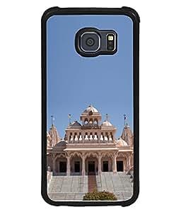 PrintVisa Shree Hari Mandir High Gloss Designer Back Case Cover for Samsung Galaxy S6 Edge+ :: Samsung Galaxy S6 Edge Plus :: Samsung Galaxy S6 Edge+ G928G :: Samsung Galaxy S6 Edge+ G928F G928T G928A G928I