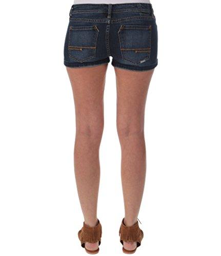 Bench Damen Hose Jeansshorts Songbird V7 Blau (Dark Vintage WA019)