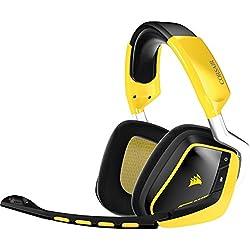 Corsair Gaming (CA-9011135-EU) VOID Wireless SE Yellow Jacket Cuffie Gaming Wireless USB Dolby 7.1 con Microfono Giallo