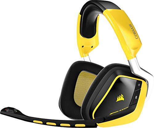 Corsair CA-9011135-EU VOID (RGB Wireless SE Gelb USB Dolby 7.1 Multi-Colour RGB Komfort) PC Gaming Headset gelb