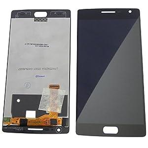 Display LCD Bildschirm mit Touchscreen Premium für OnePlus 2 two zwei Schwarz - ToKa-Versand®